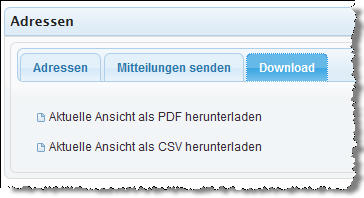 Download Liste (PDF,CSV)